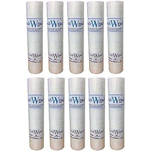 10 Bio Diesel Vegetable Oil WVO String Wound 1 micron bio-diesel filters 1mic 3 Pack