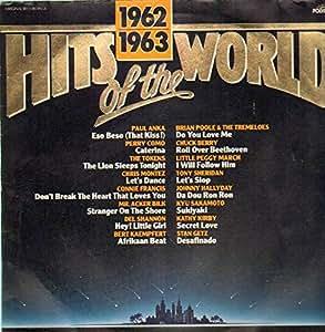 Hits Of The World 1962 63 Paul Anka Perry Como Del
