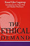 img - for The Ethical Demand (Revisions) by Knud Ejler Logstrup (1997-02-28) book / textbook / text book