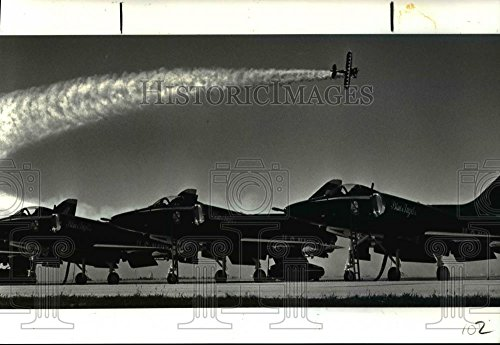 Historic Images 1986 Press Photo Jim Franklin pilots for sale  Delivered anywhere in USA