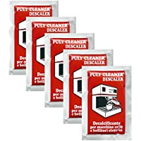 Puly / Puly Caff Cleaner Descaler Espresso Machine Cleaner - Five 30g Packets