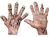 Zombie Flesh Hands Costume Gloves