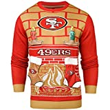 NFL San Francisco 49ers 3D Ugly Sweater, Small