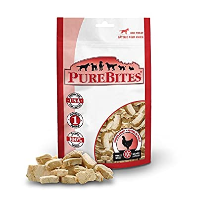 PureBites Chicken Breast Freeze-Dried Treats for Dogs