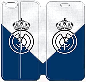 6 Plus 5.5 Inch Cover,[Pu Leather Cover] Real Madrid Theme New iPhone 6 Plus 5.5 Inch Case Cover KS3770