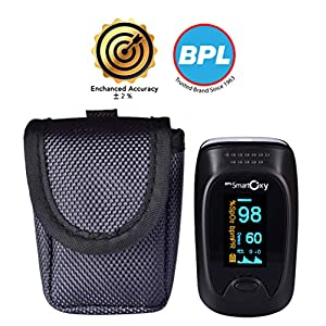 BPL Medical Technologies BPL Smart Oxy Finger Tip Pulse Oximeter