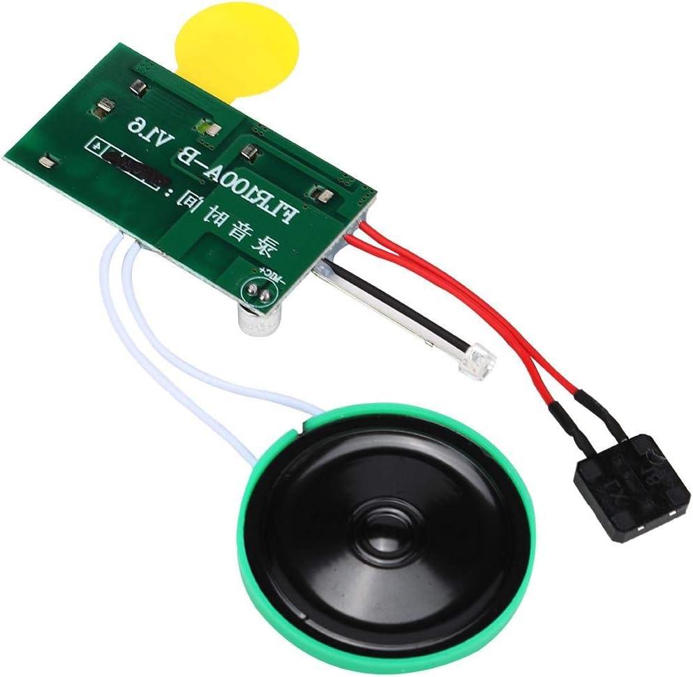 Jeu Unique Module Vocal Enregistrable 30s DIY Carte de Voeux Enregistreur Radio Audio de Son Puce dEnregistrement Audio pour Carte de Voeux