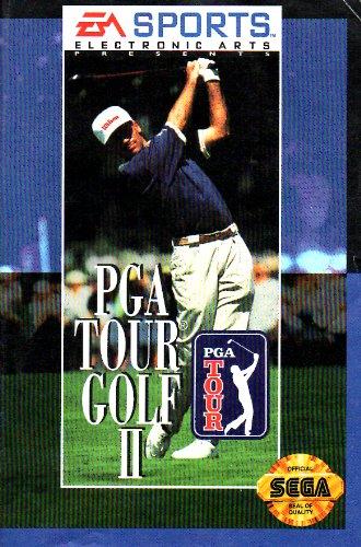 PGA Tour Golf II Sega Genesis Instruction Booklet (SEGA GENESIS MANUAL ONLY - NO GAME) Pamphlet - NO GAME INCLUDED (Outlet Pga Store)