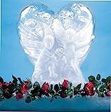 "Carlisle SHR102 Heart Shaped Ice Sculpture Mold, Single Use, 23.75"" Length x 14.13"" Width x 27.5"" Height"