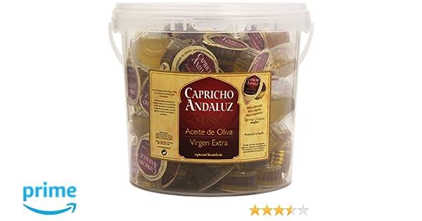 Capricho Andaluz - Aceite de oliva - Virgen Extra - 100 unidades: Amazon.es: Alimentación y bebidas