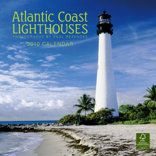 Atlantic Coast Lighthouses 2010 Square Wall (Multilingual Edition)