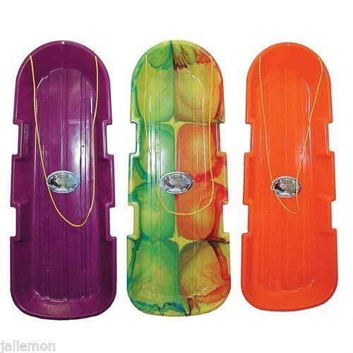 12 pack of Emsco 1140/123 SnoTwin Poly Snow Toboggan Sleds by SnoTwin