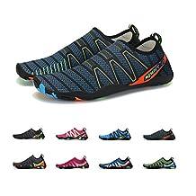 Coolloog Men Women Barefoot Quick Dry Water Shoes Lightweight Breathable for Walking Swim Beach Yoga
