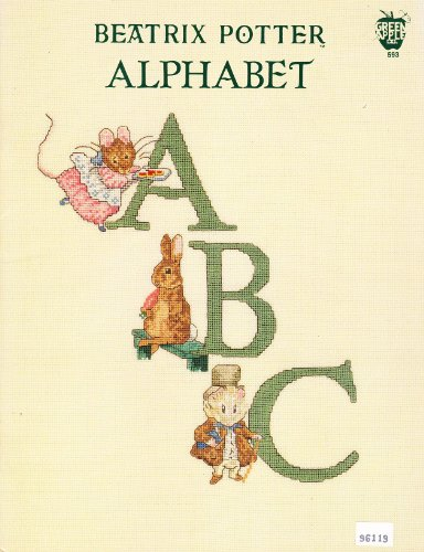 (Alphabet By Beatrix Potter Cross Stitch Patterns by Green Apple Co.)