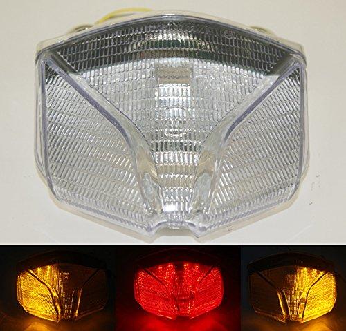 Tail Light Integrated LED Tun Signal Fit MV Agusta Strada F4 F1000 Brutale 01-09 Clear B07FSHZDMC