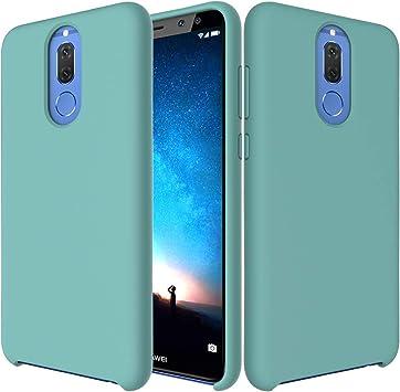 CoverTpu Funda Huawei Mate 10 Lite Silicona, Verde Funda Líquido de Silicona Gel TPU Flexible, Carcasa para Huawei Mate 10 Lite Anti-Rasguño y Resistente Protectora Tapa Caso Case Verde: Amazon.es: Electrónica