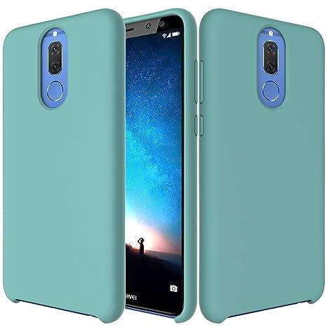 SpiritSun Funda Huawei Mate 10 Lite, Líquido Silicona Carcasa Case Suave Flexible Gel TPU Bumper Tapa Shock-Absorción Anti Rasguños Original Funda ...
