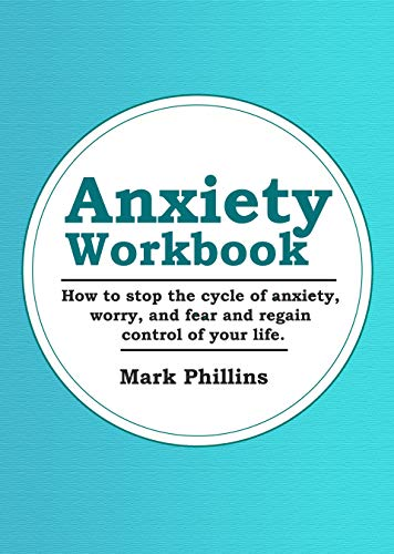 Anxiety Workbook Control Overcome Depression ebook product image
