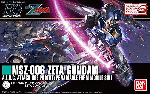 Bandai Hobby HGUC Zeta Z Gundam Model Kit (1/144 Scale)
