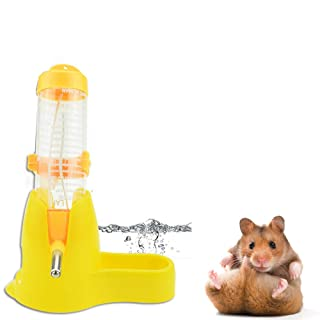 Ogquaton Alimentador automático de Mascotas, pequeño alimentador de Animales, Dispositivo de alimentación automático Dispensador de Agua para Gato pequeño Animal