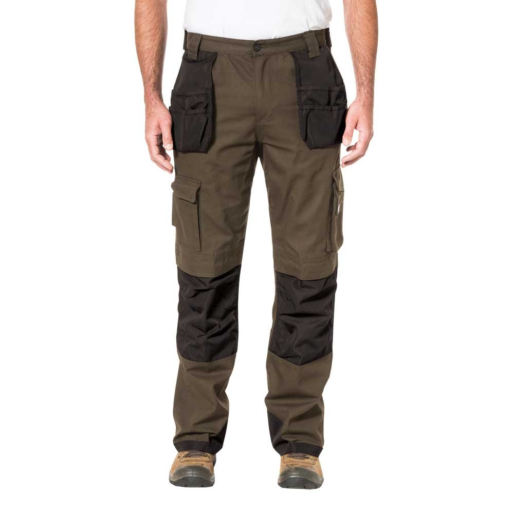 Caterpillar Men's Cargo Pant with Holster Pockets,Dark Earth/black,28Wx34L