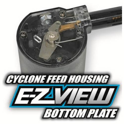 TechT E-Z View Tippmann Cyclone Feed Bottom Cover New by TechT