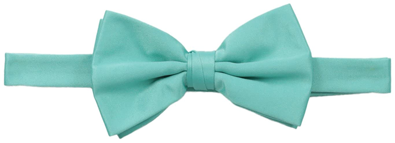 Stacy Adams Men's Solid Bow Tie Navy One Size Stacy Adams Mens Neckwear SABOW