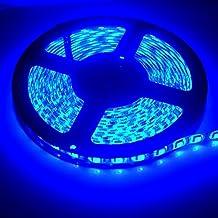 XT AUTO 12v 5M 3528 300 SMD Neon Blue Led Car Flexible Waterproof Underbody Light Strip