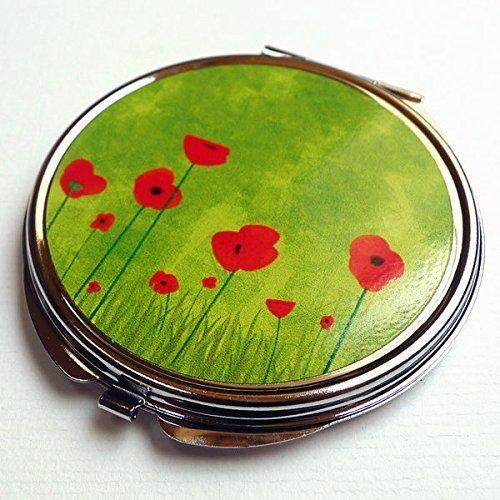 Miroir de poche, Les coquelicots