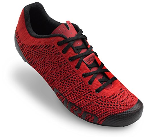 Giro Empire E70 Knit Cycling Shoes - Men's Bright Red/Dark Red 39.5 ()