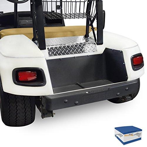 RecPro EZGO TXT Golf Cart Diamond Plate Access Panel Polished Aluminum