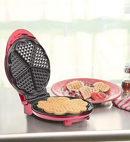 belgian waffle heart maker - 7