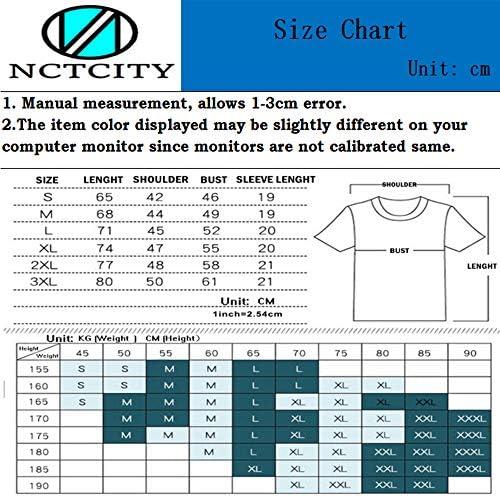 NCTCITY Unisex Kurzarm T-Shirt KPOP ONEUS Sommer Tops: Odzież