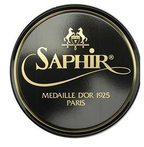 (Saphir Medaille D'or 1925 Pate De Luxe Neutral 50ml Wax Shoe)
