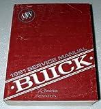 1991 Buick Riviera, Reatta Factory Service Manual