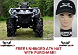 SuperATV Can-Am Outlander 2'' Lift Kit and Free Unhinged ATV Hat!