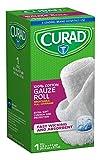 Curad CUR25865ERB Rolled Gauze Bandage, 4.5'' x 4 yd (Pack of 24)