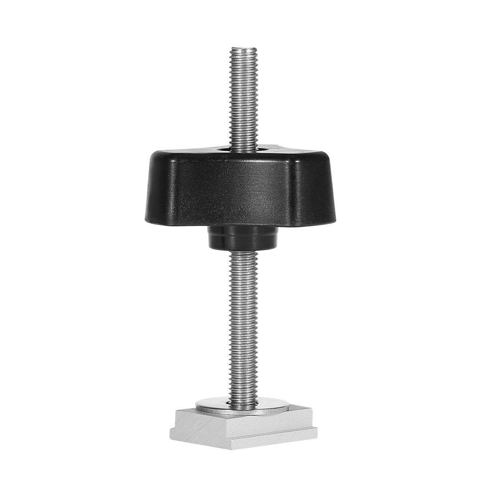T-Slot Clamp Jeu de pinces de maintien /à action rapide en m/étal pour outil de menuiserie T-Slot pour bois Taille : 1#