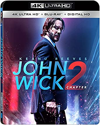 Amazoncom John Wick Chapter 2 4k Ultra Hd Blu Ray Digital Hd
