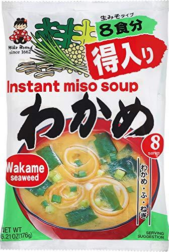 Miyasaka Miso Soup, Wakame Seaweed, 6.21 Ounce
