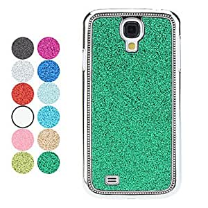 Elegant Design Glitters Shining Hard Case for Samsung Galaxy S4 I9500 (Assorted Colors),Blue