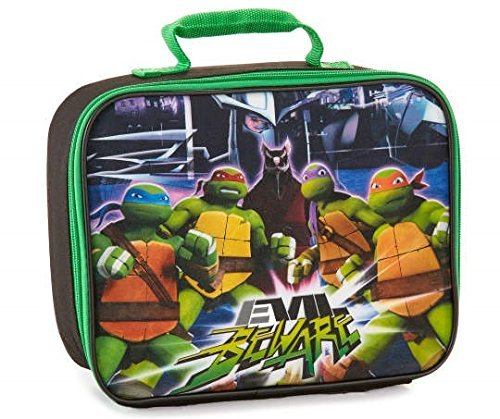 [Teenage Mutant Ninja Turtle Lunch Box Kit Boys Nickelodeon Leonardo Raphael Donatello Elementary Junior High Backpack Middle 2] (Nickelodeon Themed Costumes)
