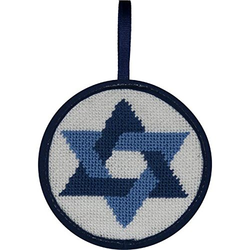 Alice Peterson Stitch-Ups Needlepoint Ornament Kit- Star of David ()