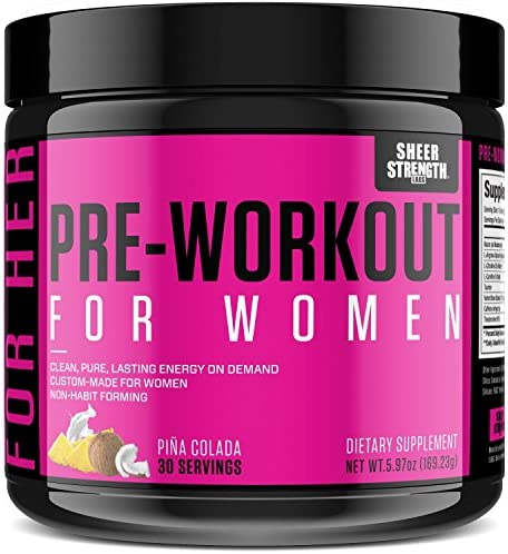 Pre Workout Women Arginine Non Habit Forming product image
