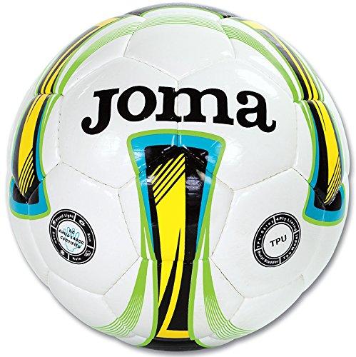 Mag JomaスポーツウェアサッカーボールBalon Forte t5 Uniforms Pallone B073QW5624Bianco Verde 5