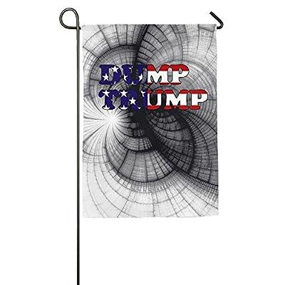 DUMP TRUMP Mesh Demonstration Flag