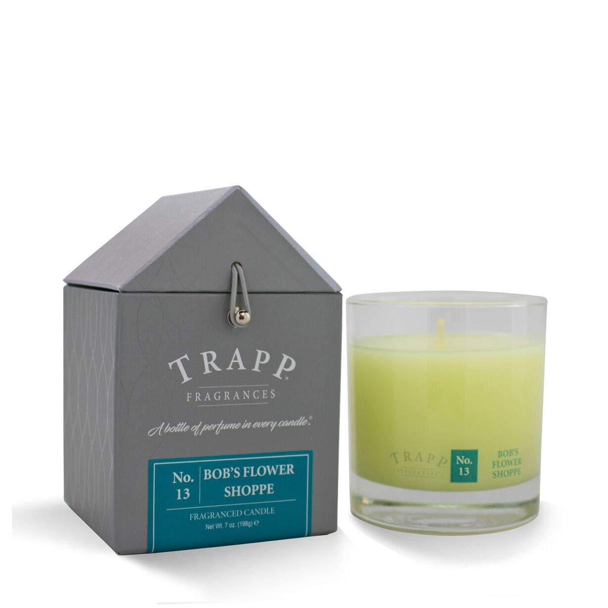 Trapp Signature Home Collection No. 13 Bob's Flower Shoppe Poured Scented Candle, 7-Ounce by Trapp