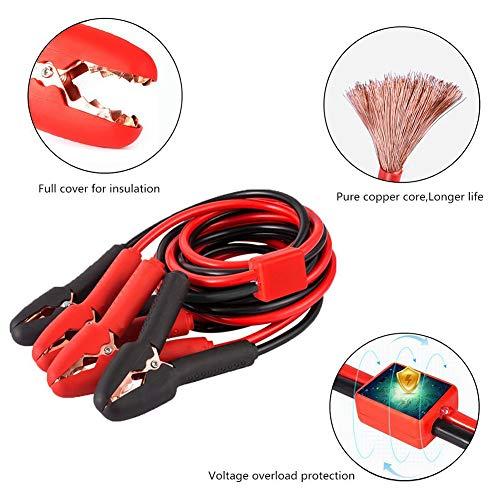 [해외]다이렉트 살 러 자동 자동차 점프 LeadsEmergency 부스터 케이블 비상 시작 점퍼 전압 과부하 프로텍터 800Amp / Directsaler Auto Car Jump LeadsEmergency Booster Cables Emergency Start Jumper with Voltage Overload Protector 800Amp