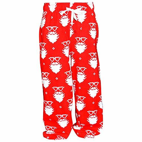 Unique Baby UB Boys Christmas Santa Matching Family Pajama Pants (Unique Kids Pajamas)