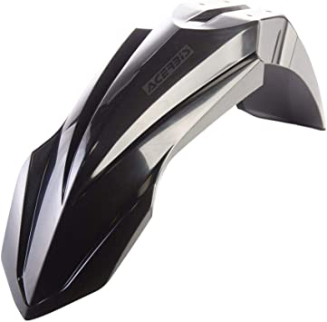 Acerbis Fork Cover Set White for 15-19 Yamaha YZ250
